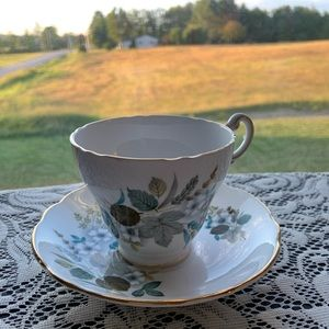 Antique Regency English Bone China tea cup/saucer